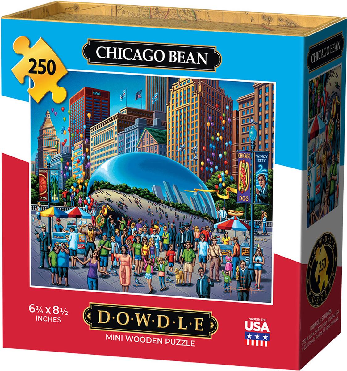 Chicago Bean Chicago Jigsaw Puzzle