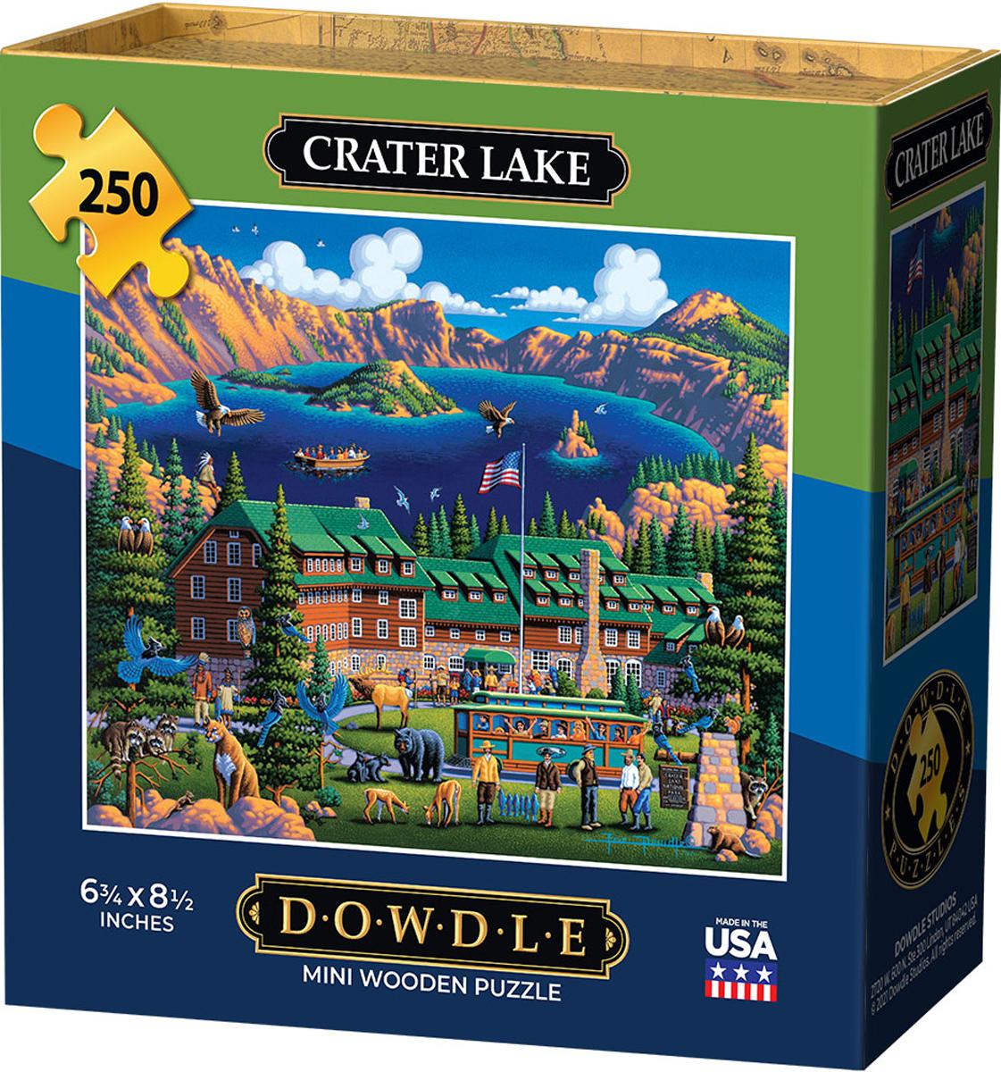 Crater Lake Lakes / Rivers / Streams Jigsaw Puzzle