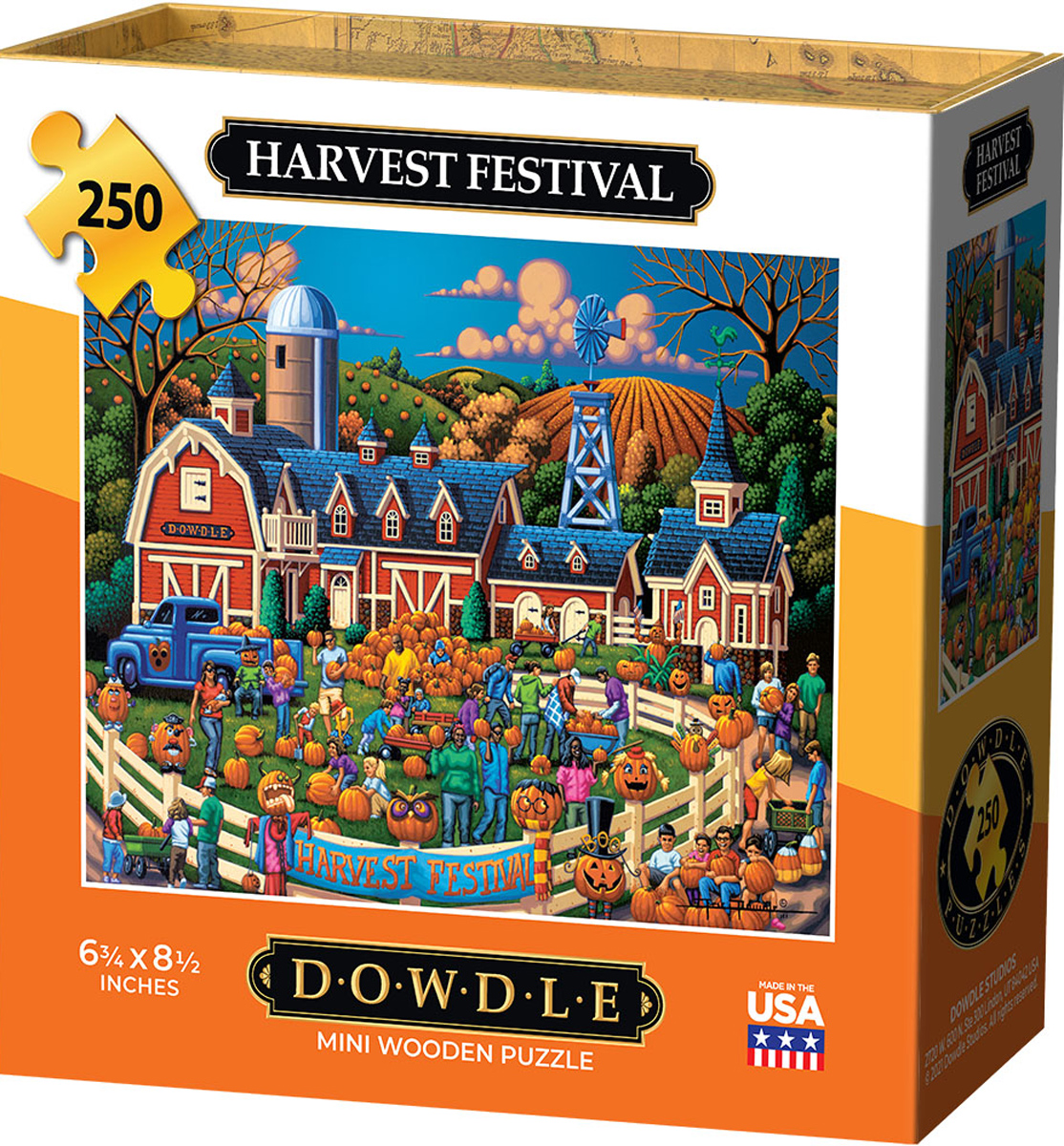 Harvest Festival Halloween Jigsaw Puzzle