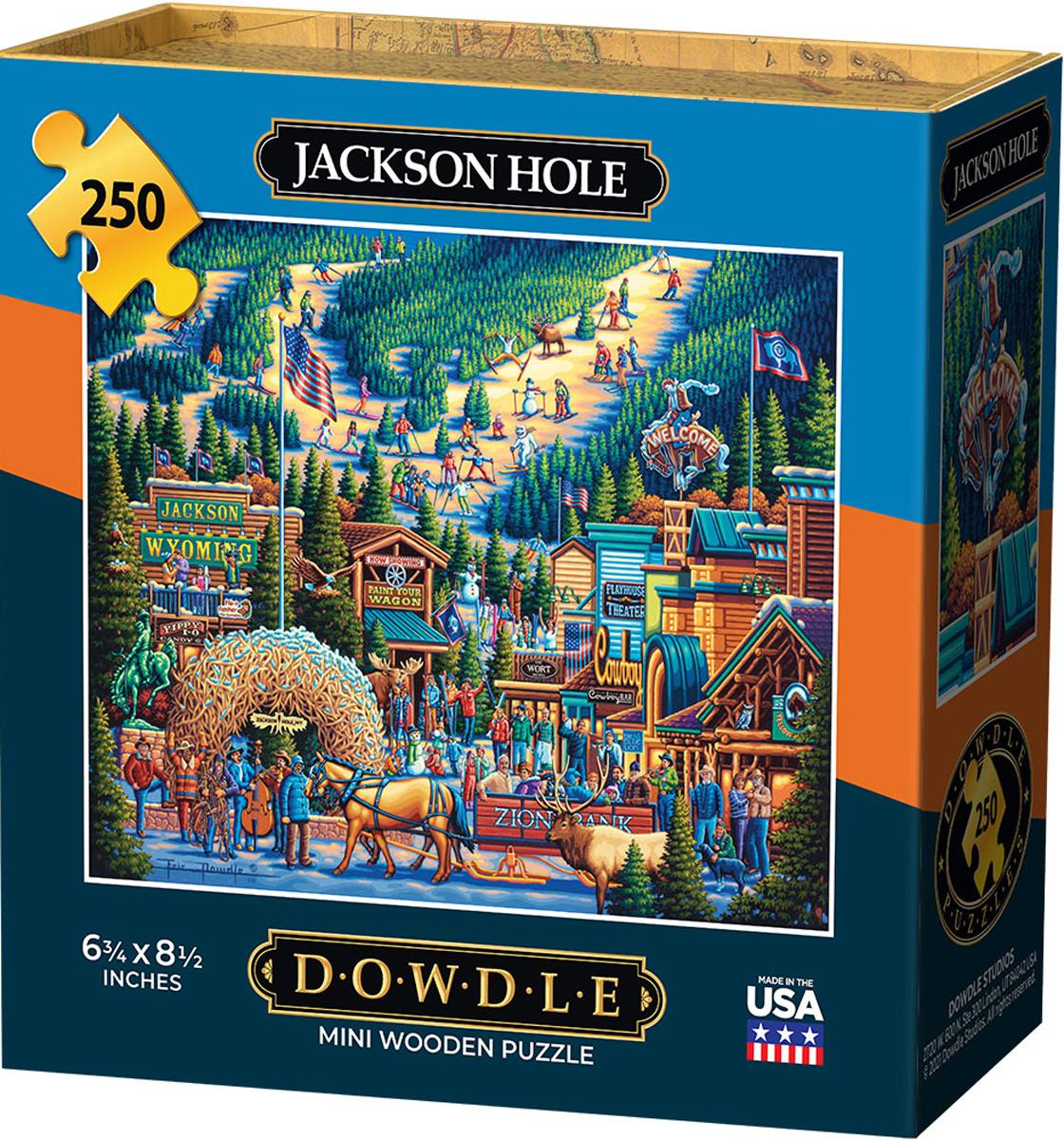 Jackson Hole Countryside Jigsaw Puzzle
