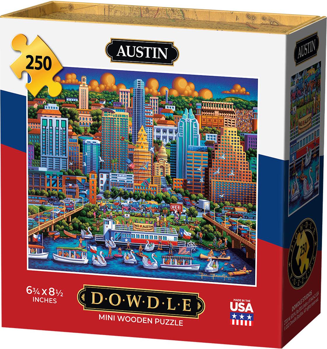 Austin Cities Jigsaw Puzzle