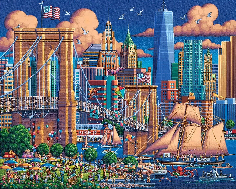 Brooklyn Bridge New York Jigsaw Puzzle