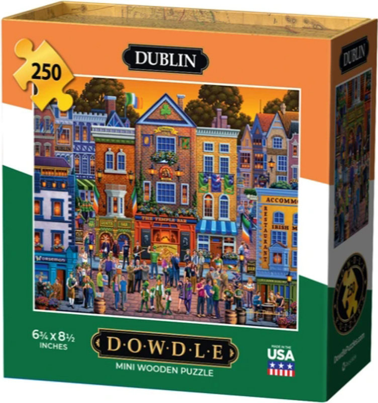Dublin Ireland Jigsaw Puzzle