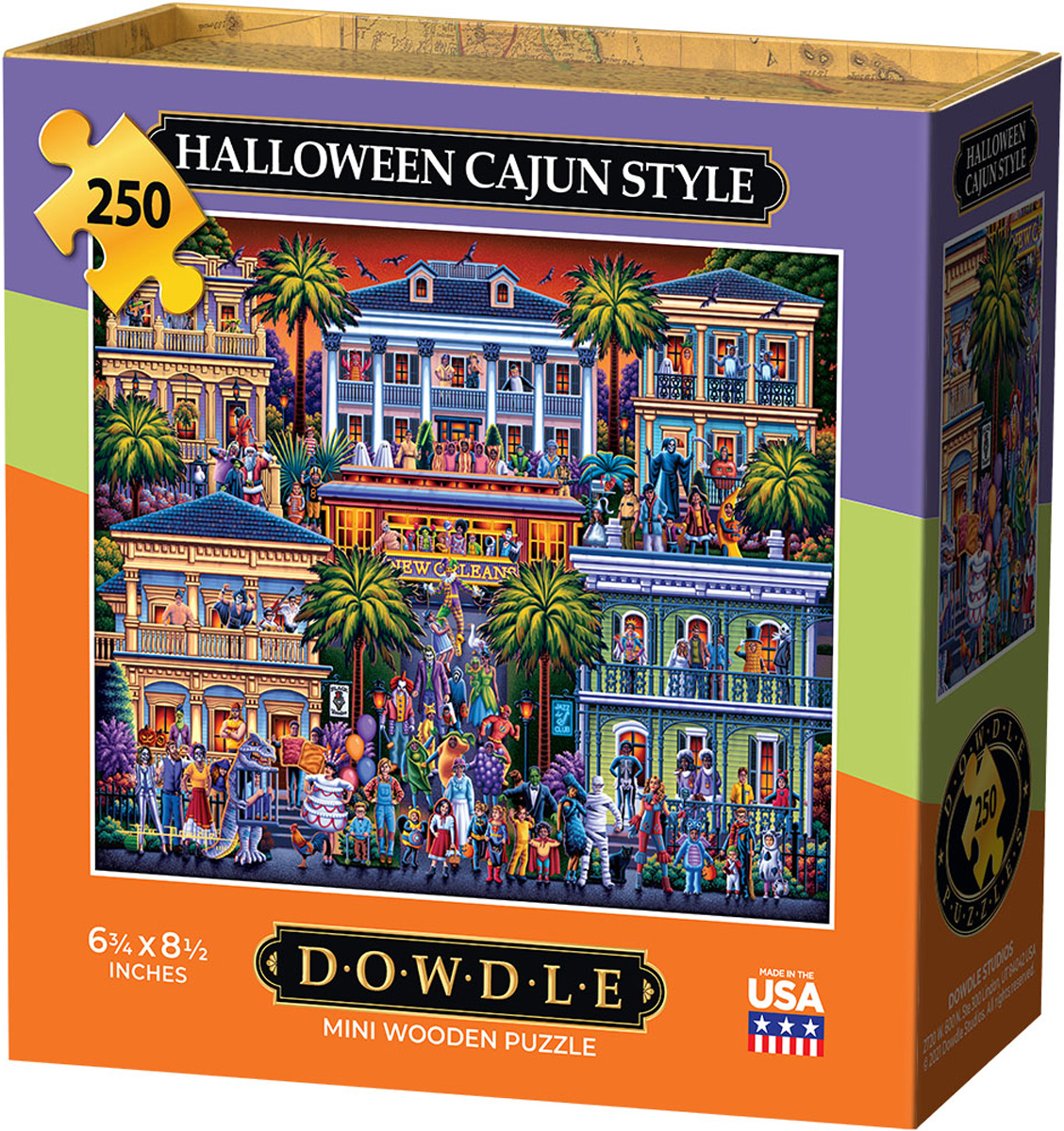 Halloween Cajun Style Halloween Jigsaw Puzzle