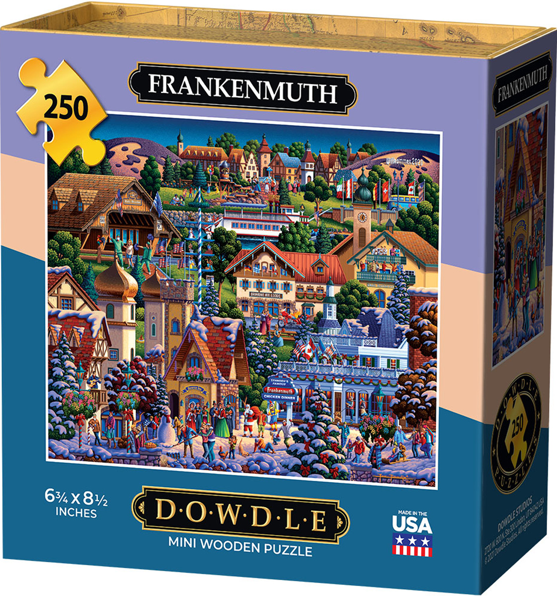 Frankenmuth Cities Jigsaw Puzzle