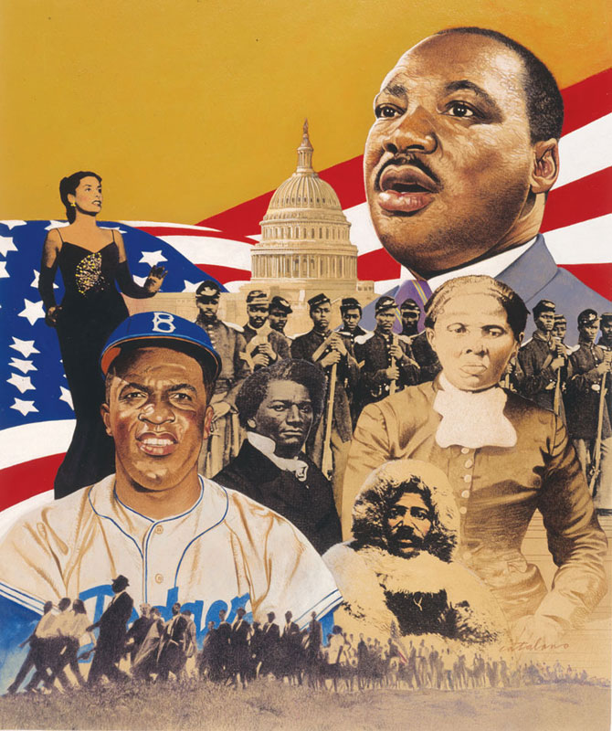 Black History African American Jigsaw Puzzle