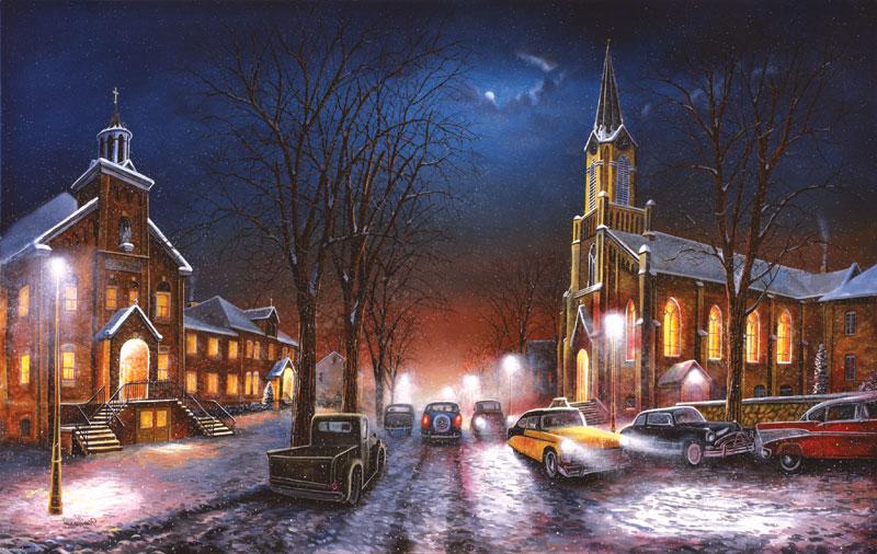 Faith through the Ages Winter Jigsaw Puzzle