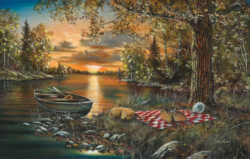 Lakeside Rendezvous Jigsaw Puzzle