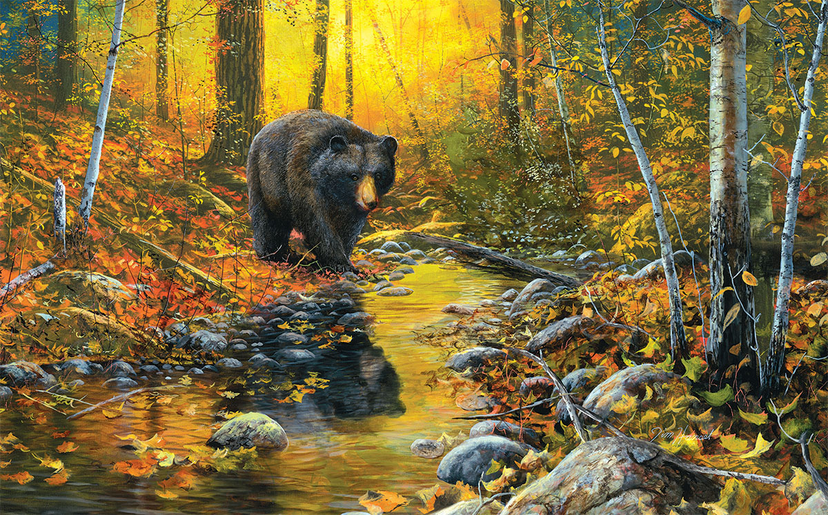 Last Days of Autumn Wildlife Jigsaw Puzzle
