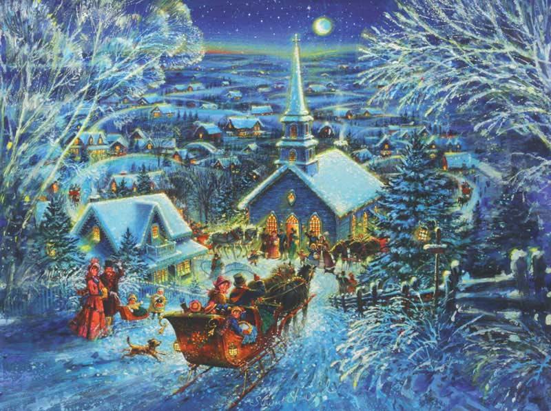 Dashing Through the Snow Jigsaw Puzzle