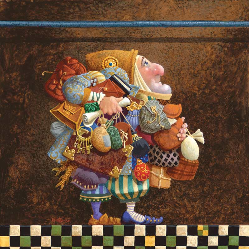 Hold the Rod, the Iron Rod - Scratch and Dent Contemporary & Modern Art Jigsaw Puzzle