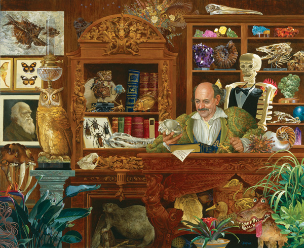 The Natural Philosopher People Jigsaw Puzzle