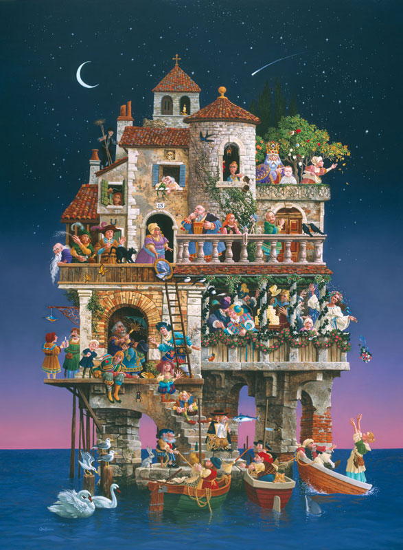 Superstitions Fantasy Jigsaw Puzzle