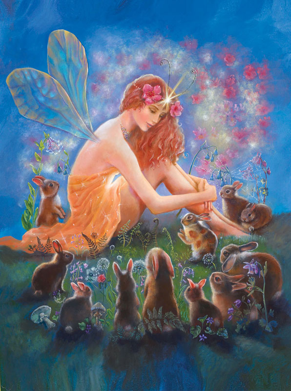 Velveteen Rabbit Angels Jigsaw Puzzle