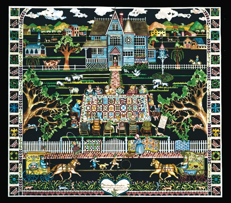 Busy Bee Quilting Club Crafts & Textile Arts Jigsaw Puzzle
