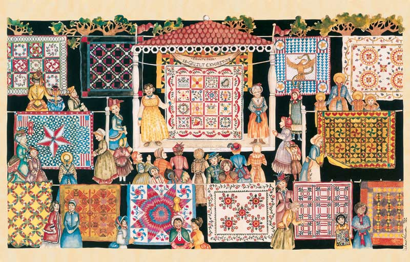 The Quilting Show Circuit Jigsaw Puzzle