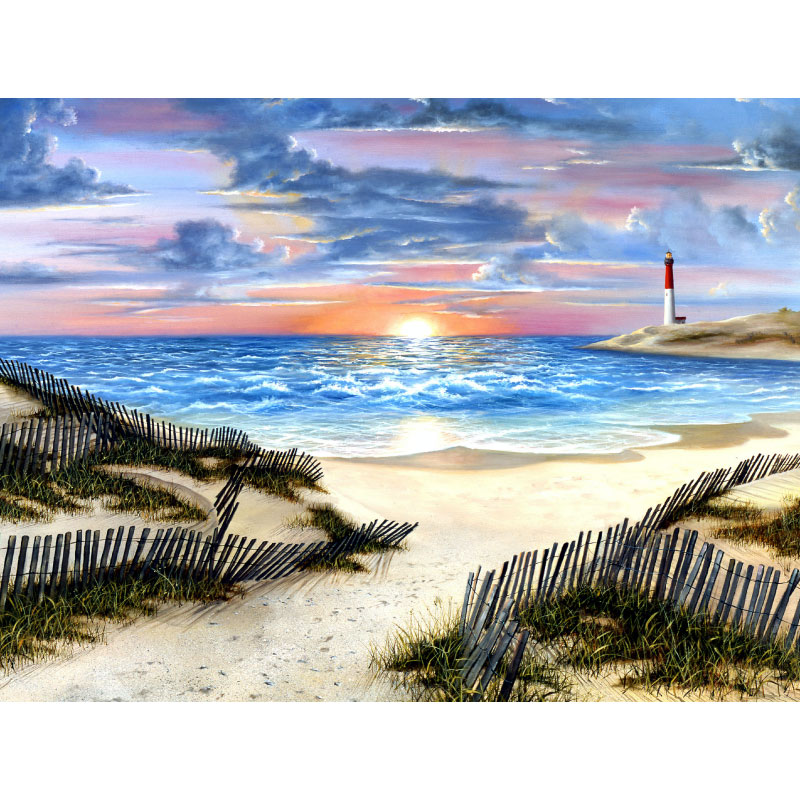 Nature's Path Beach Jigsaw Puzzle