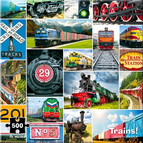 Trains! Trains Jigsaw Puzzle