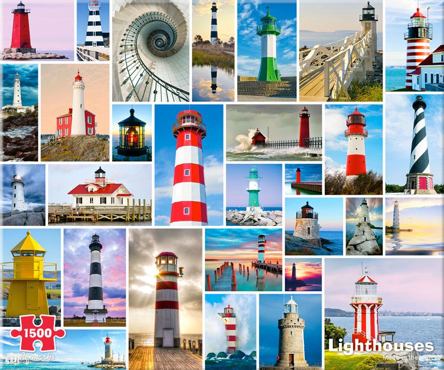 Lighthouses Jigsaw Puzzle Puzzlewarehouse Com