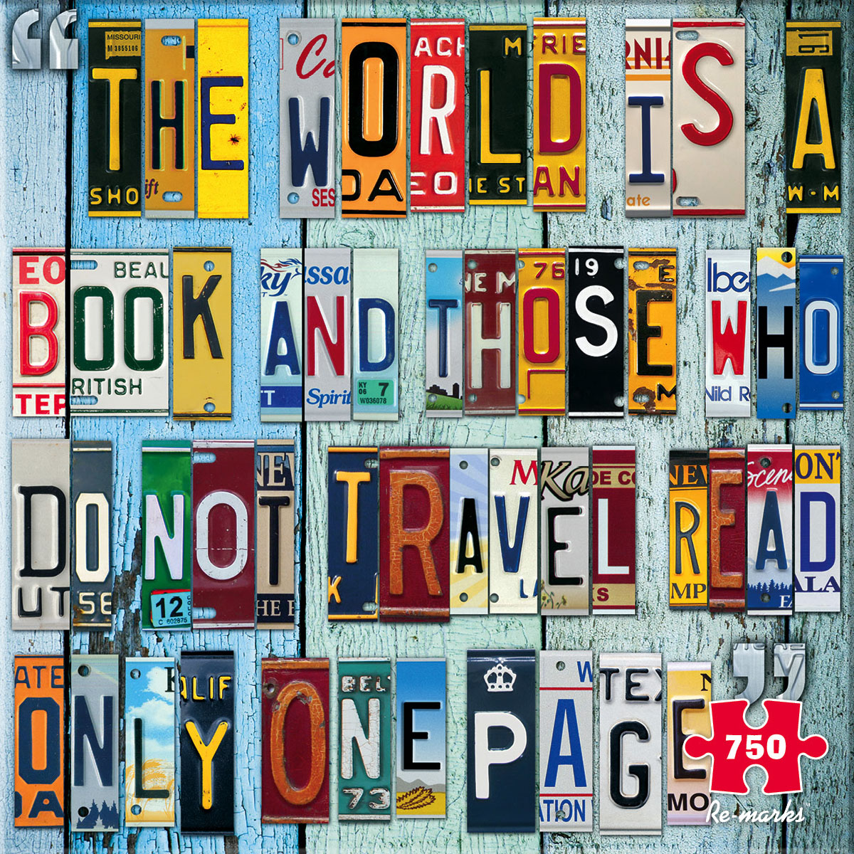 License Plates Everyday Objects Jigsaw Puzzle