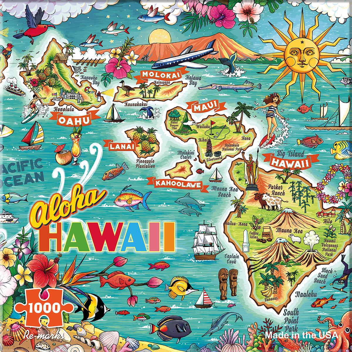Hawaii Jigsaw Puzzle Puzzlewarehouse Com