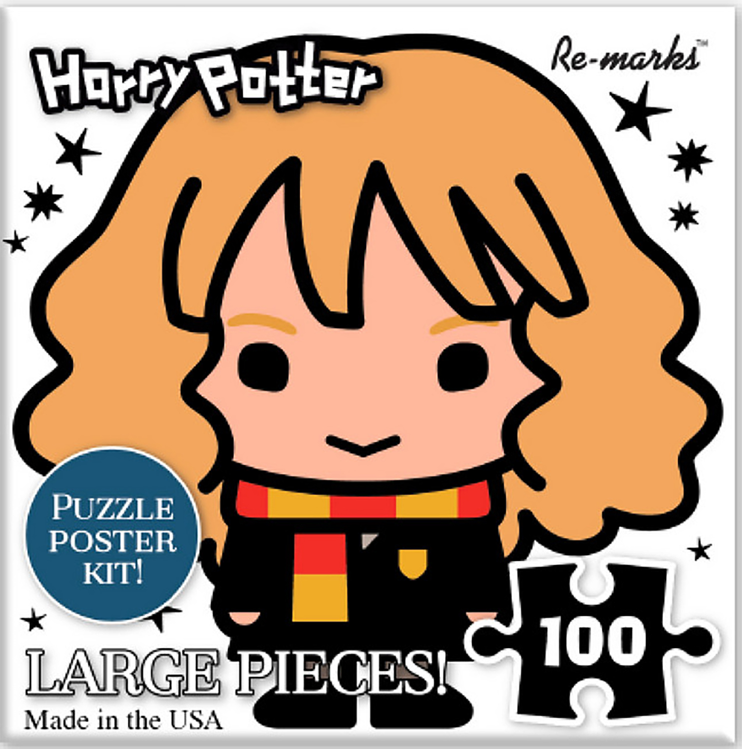 Hermione Cube Harry Potter Jigsaw Puzzle