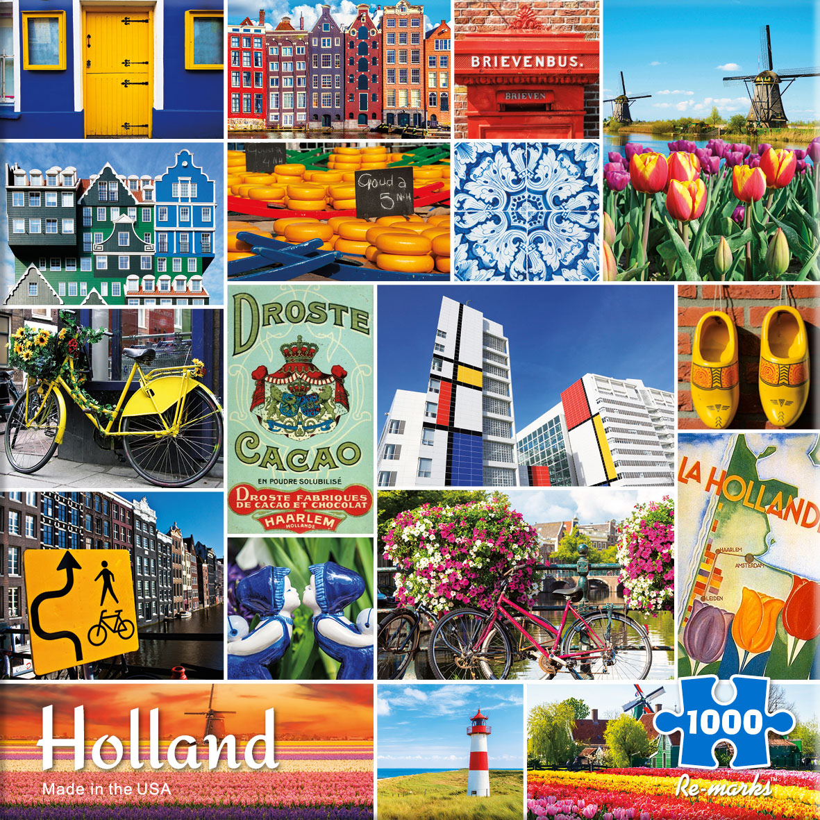 Holland Collage Jigsaw Puzzle