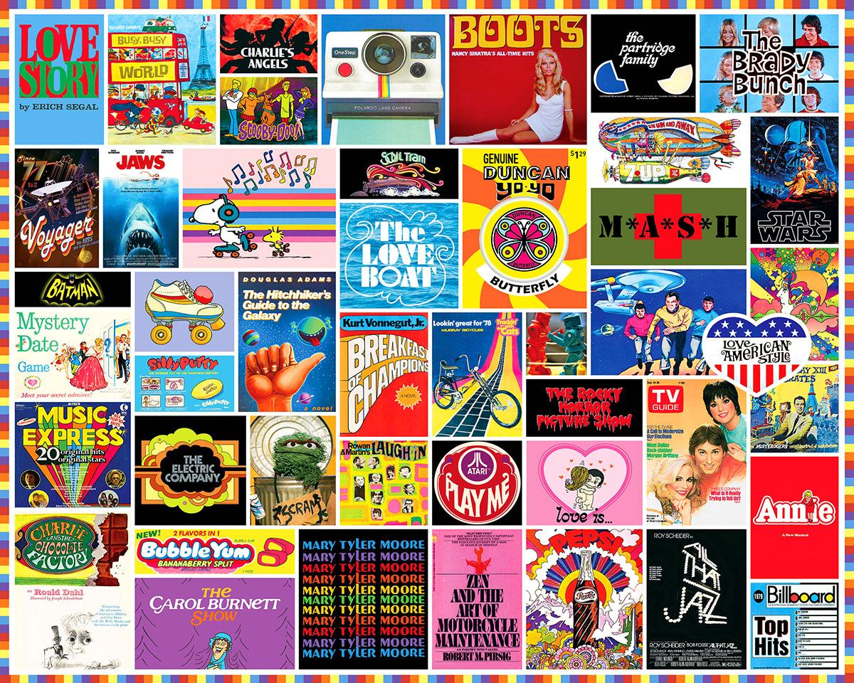 1970's Nostalgic / Retro Jigsaw Puzzle