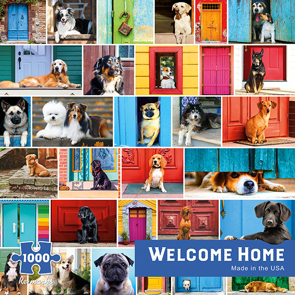 Welcome Home Animals Jigsaw Puzzle