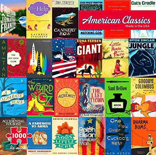 American Classics Movies / Books / TV Jigsaw Puzzle