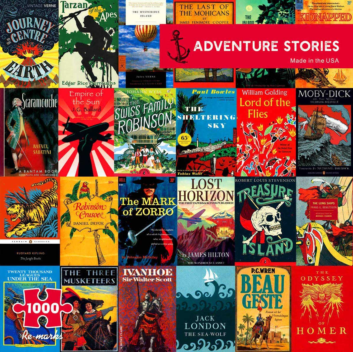 Adventure Stories Movies / Books / TV Jigsaw Puzzle
