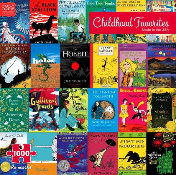 Childhood Favorites Movies / Books / TV Jigsaw Puzzle
