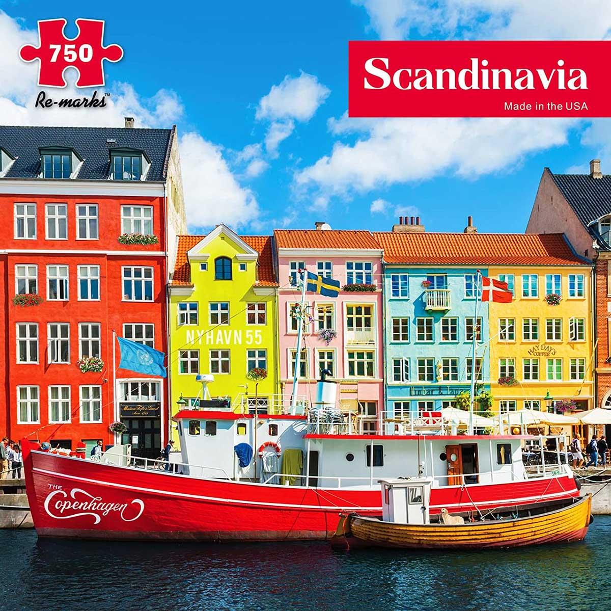 Scandinavia Boats Jigsaw Puzzle