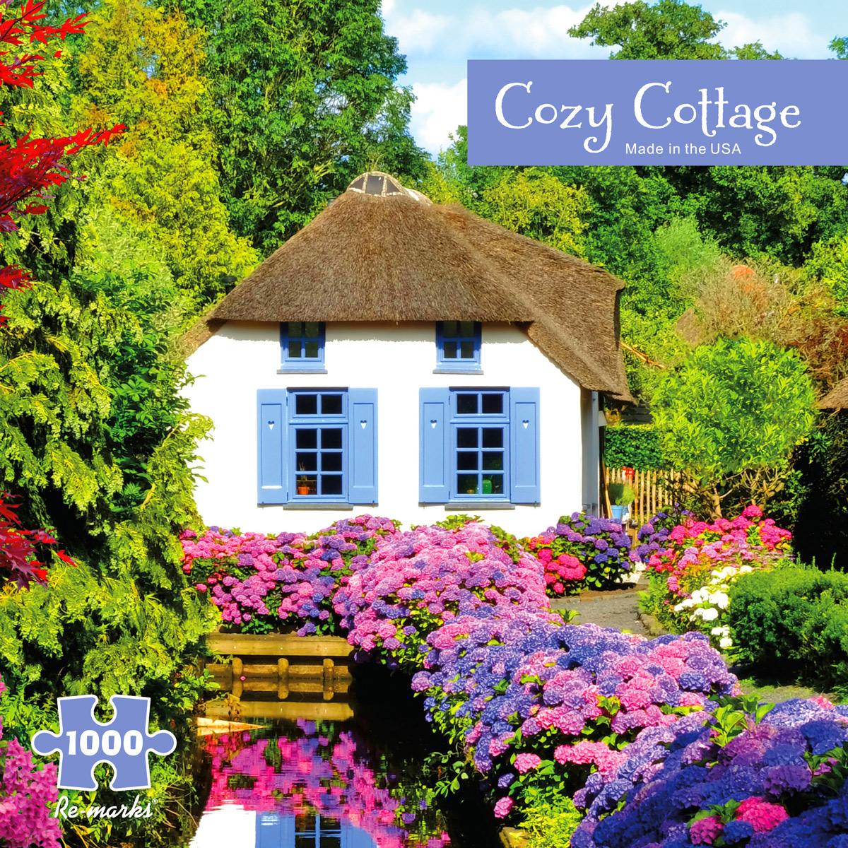 Cozy Cottage Garden Jigsaw Puzzle
