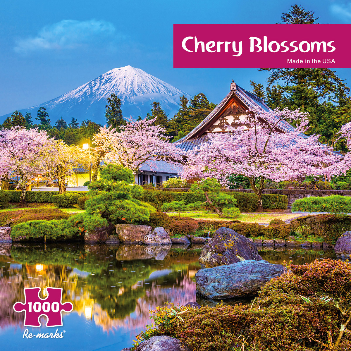 Cherry Blossoms Flowers Jigsaw Puzzle