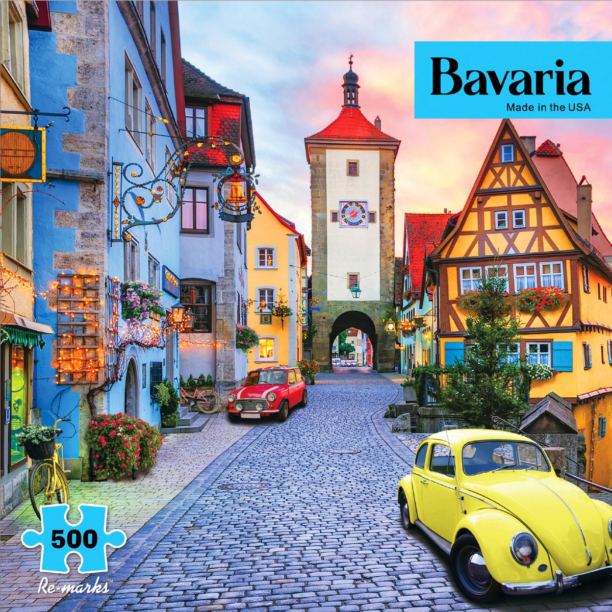 Bavaria Street Scene Jigsaw Puzzle