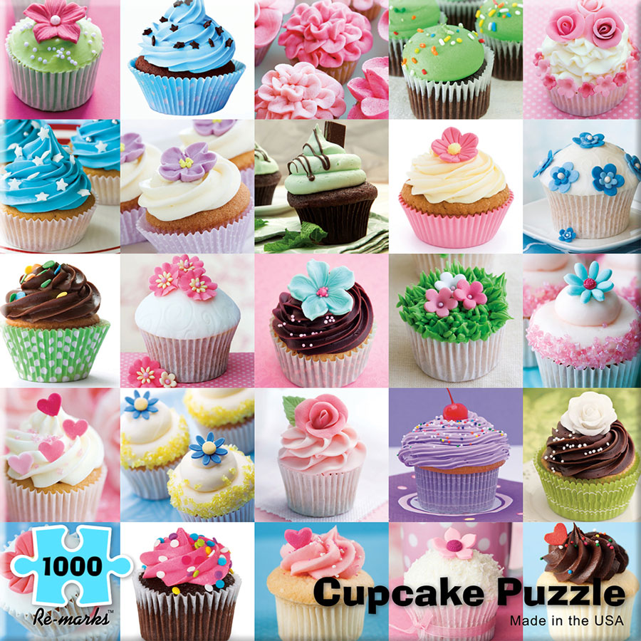 Cupcake Collage Jigsaw Puzzle Puzzlewarehouse Com