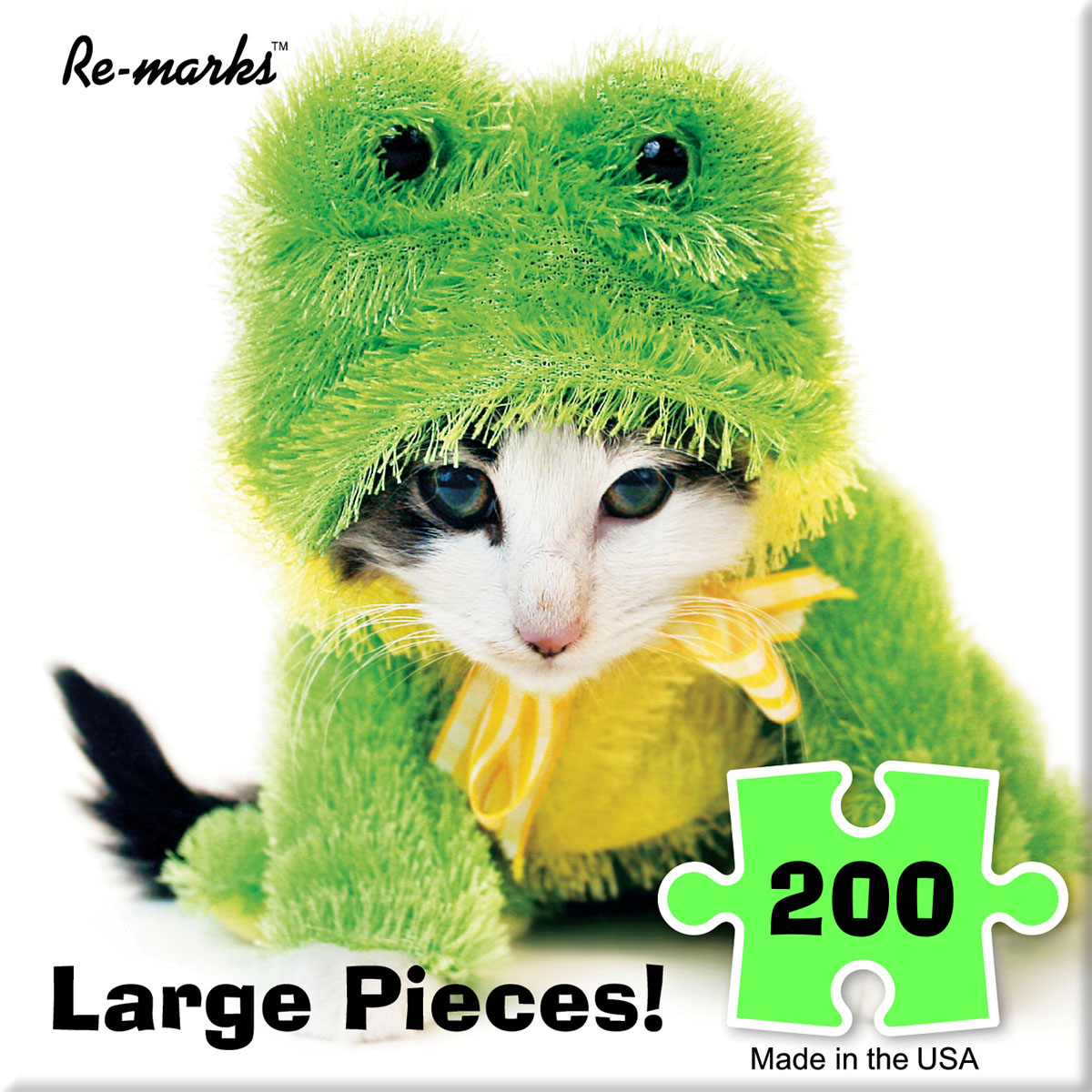 Kit Frog Cats Jigsaw Puzzle