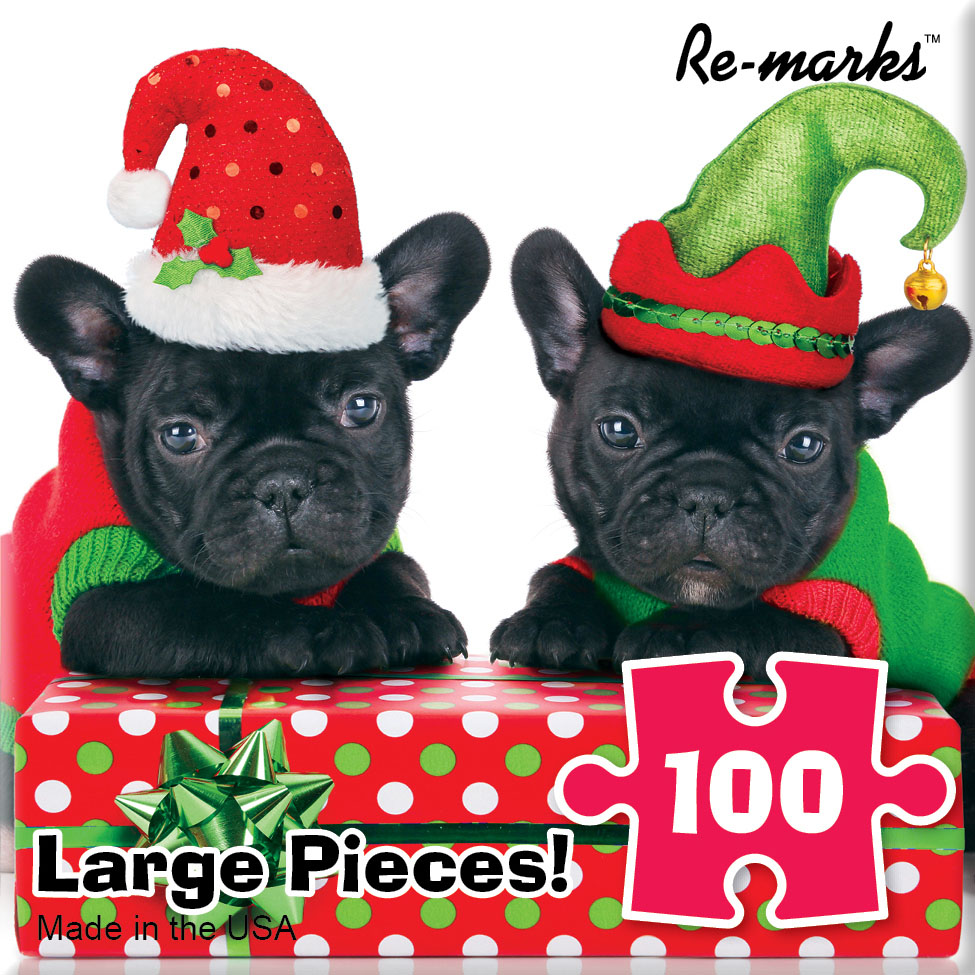 Hdog Elf Dogs Jigsaw Puzzle