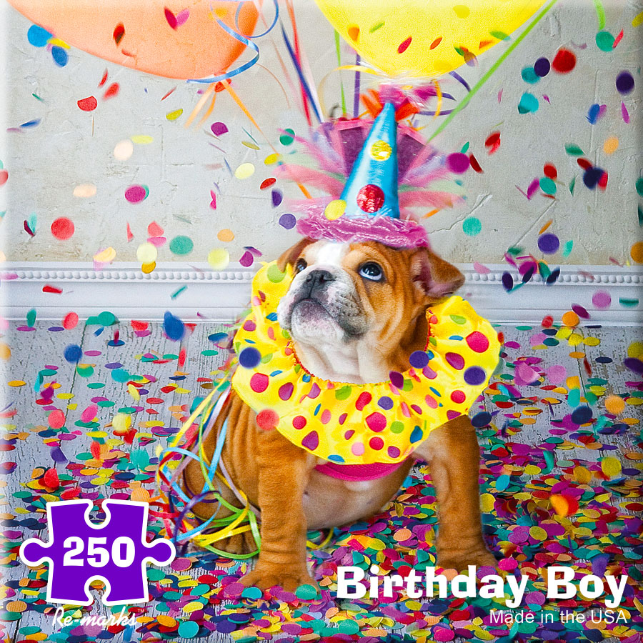 Birthday Boy Dogs Jigsaw Puzzle