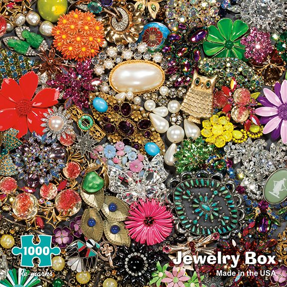 Jewelry Box Everyday Objects Jigsaw Puzzle