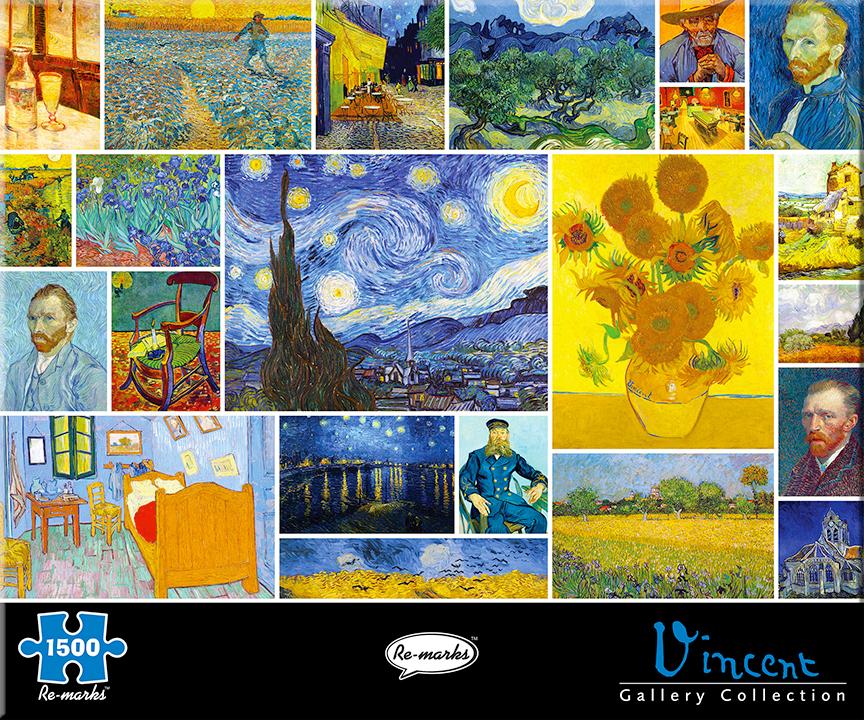 Vincent Flowers Jigsaw Puzzle
