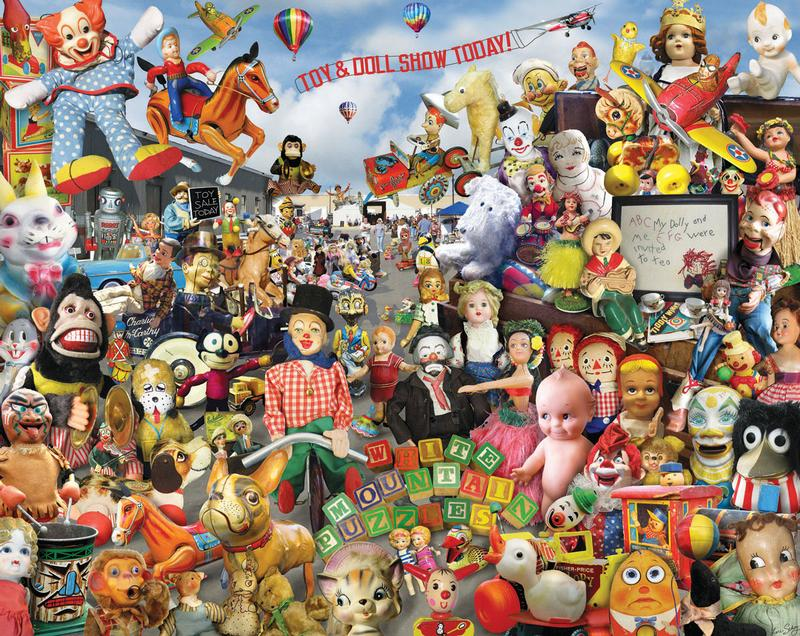 Crazy Toys Everyday Objects Jigsaw Puzzle
