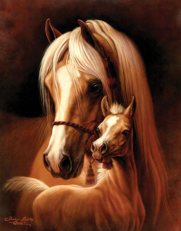 Mommy & Me Horses Jigsaw Puzzle