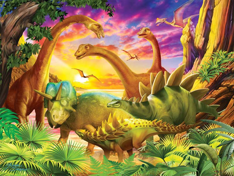 Dino Delight Dinosaurs Children's Puzzles