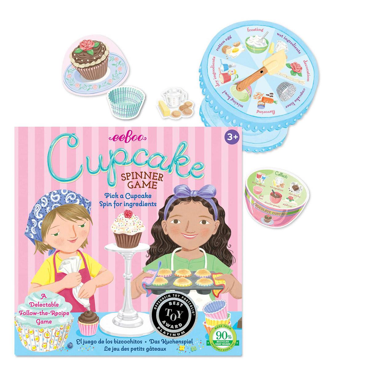 Cupcake Spinner Game Pi Day