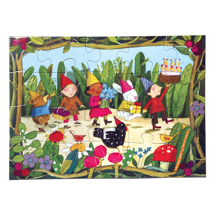 Birthday Parade Garden Jigsaw Puzzle