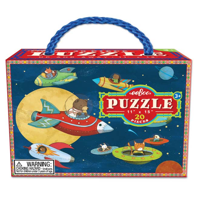 Up and Away Space Jigsaw Puzzle
