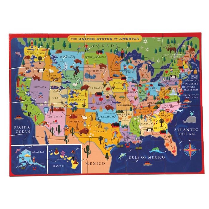 United States United States Jigsaw Puzzle
