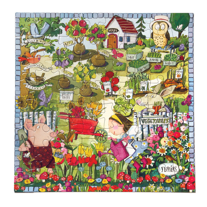 Growing A Garden Garden Jigsaw Puzzle